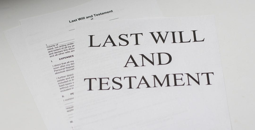 Did You Create a Will After Your Divorce?